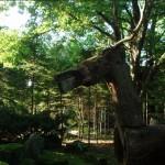 真鍋庭園内彫刻