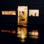 雨の日の西5条通り