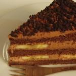チョコばななケーキ