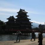 松本城です
