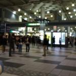 品川駅です
