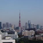 朝の東京タワーぁ!