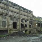 旧王子製紙工場・・・